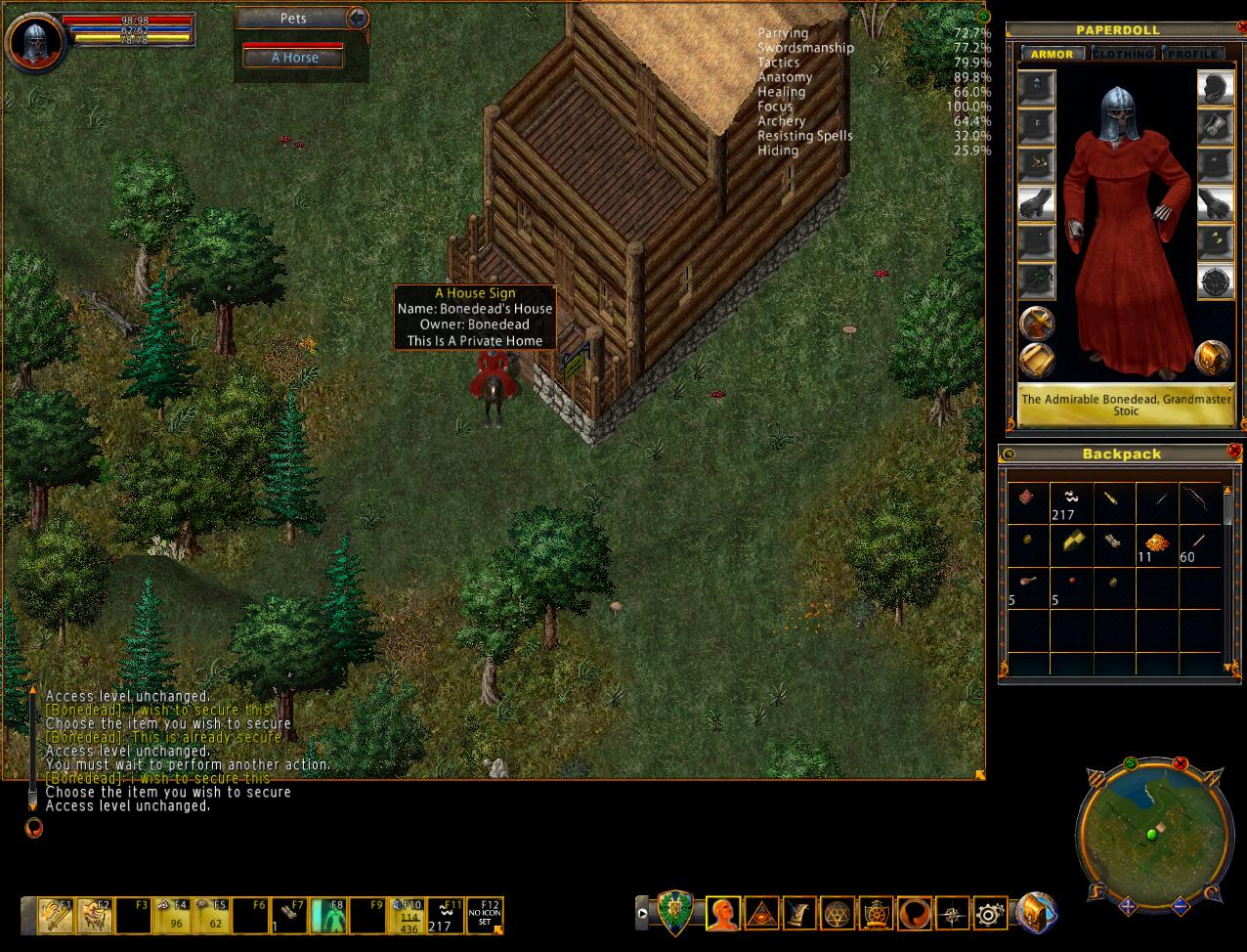 Ultima Online Bonedead 39 S Adventures